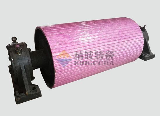 纯陶瓷滚筒_耐磨陶瓷辊筒