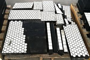 【案例】瑞典某知名工业集团二合一耐磨陶瓷硫化衬板合同项目顺利交货