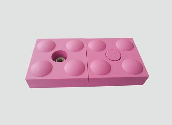 高温抗冲击型陶瓷衬板(NMC-WK)