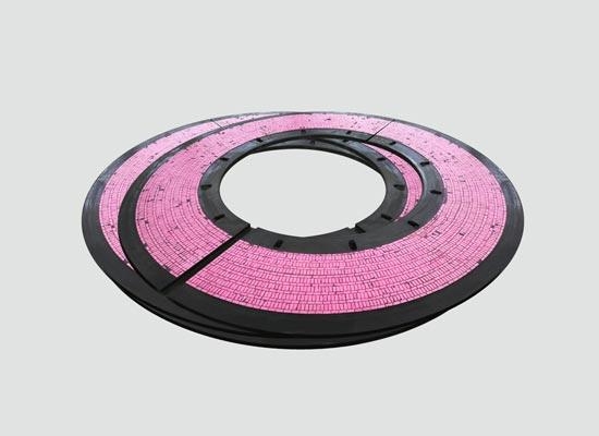 立磨磨辊密封环-耐磨陶瓷密封圈