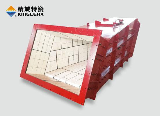 溜槽衬板|耐磨陶瓷溜槽|溜槽防磨方案