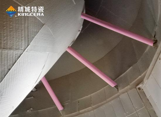 选粉机下料斜锥支撑管