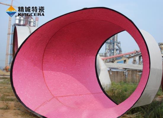 耐高温耐磨陶瓷管道|热风管道