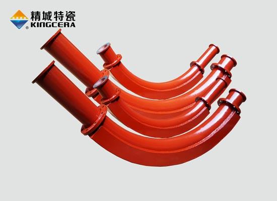 耐磨陶瓷除灰管道|耐磨灰渣输送管道