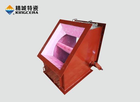 内衬陶瓷电动三通分料阀
