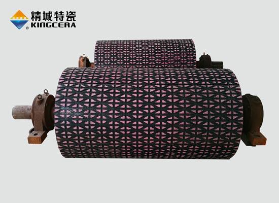陶瓷滚筒包胶|陶瓷橡胶复合板
