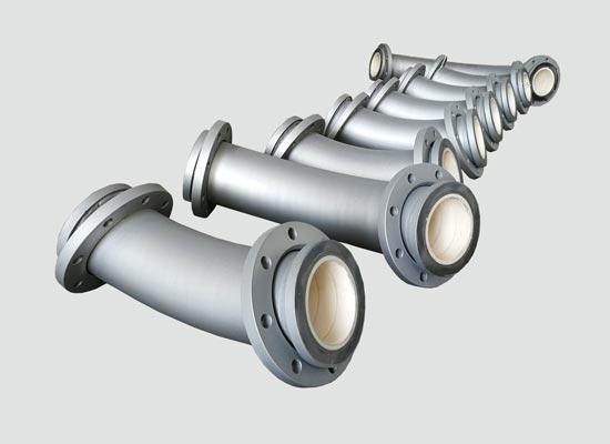 内衬耐磨陶瓷管道