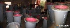 德国某老牌防磨公司总经理一行到访精城特瓷