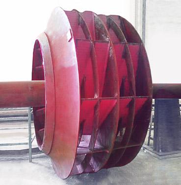 耐磨风机叶轮|耐磨风机叶片