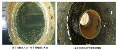 精城耐磨陶瓷旋风在有机硅化工合成车间的应用