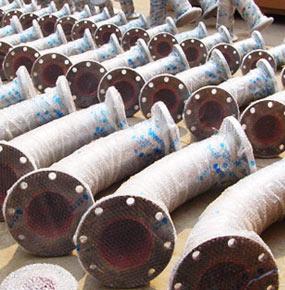 耐磨陶瓷输灰管道