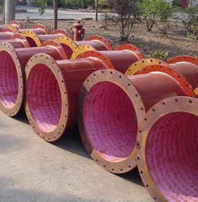 螺柱焊型|拱接型耐磨陶瓷管道
