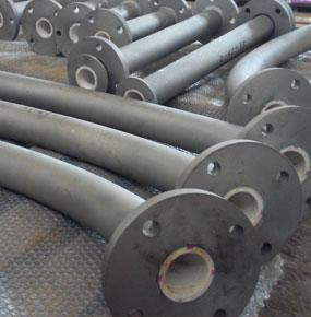 一体成型耐磨陶瓷管道|陶瓷钢管