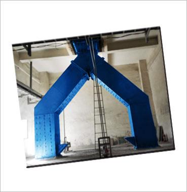 皮带输送改溜槽系统设计|溜槽衬板